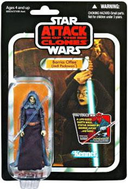 Star Wars Attack of the Clones Vintage Collection 2012 Barriss Offee Action Figure #51 [Jedi Padawan]