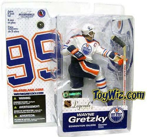 McFarlane Toys NHL Edmonton Oilers Sports Picks Legends Series 2 Wayne Gretzky Action Figure [White Jersey Variant]