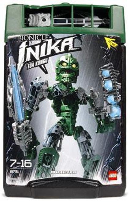 LEGO Bionicle Toa Inika Toa Kongu Set #8731