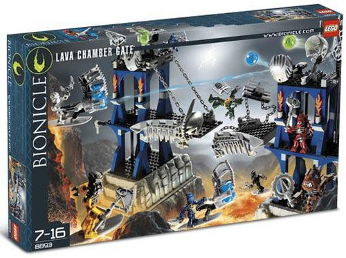 LEGO Bionicle Lava Chamber Gate Set #8893