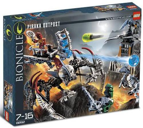 LEGO Bionicle Piraka Outpost Set #8892