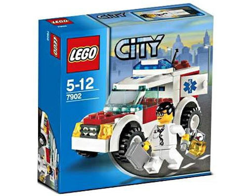 LEGO City Doctor's Car Set #7902