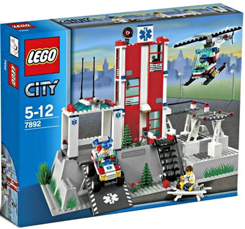 LEGO City Hospital Set #7892 [Damaged Package, Mint Contents]