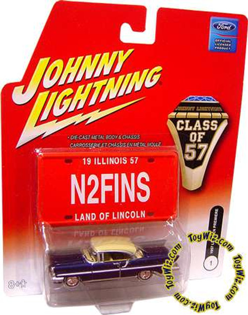 Johnny Lightning Class of '57 Lincoln Premiere Diecast Car