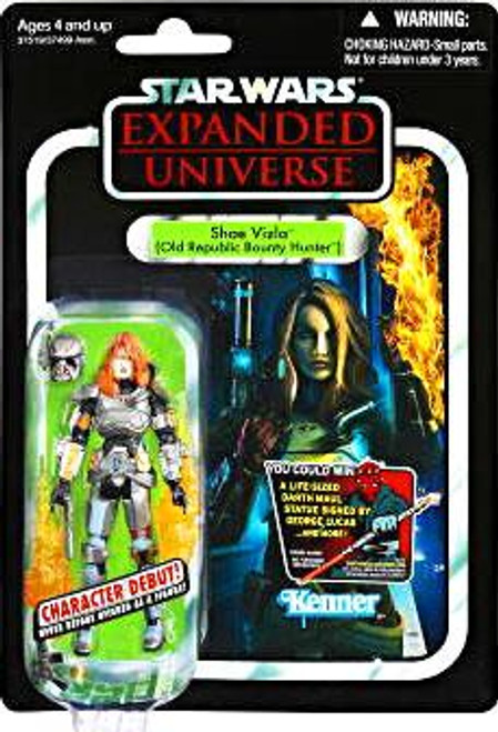 Star Wars Expanded Universe Vintage Collection 2012 Shae Vizla Action Figure #101 [Old Republic Bounty Hunter]
