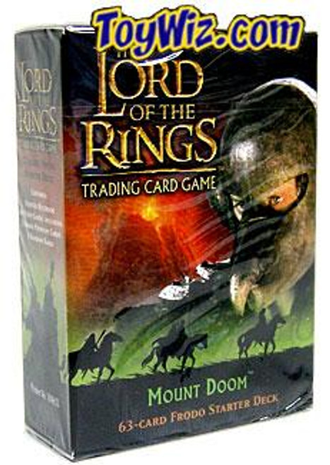 The Lord of the Rings Trading Card Game Mount Doom Frodo Baggins Starter Deck