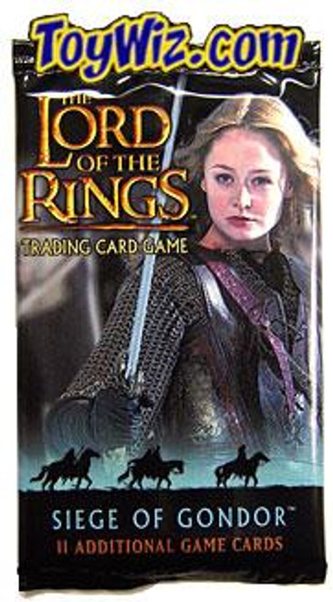 The Lord of the Rings Trading Card Game Siege of Gondor Booster Pack