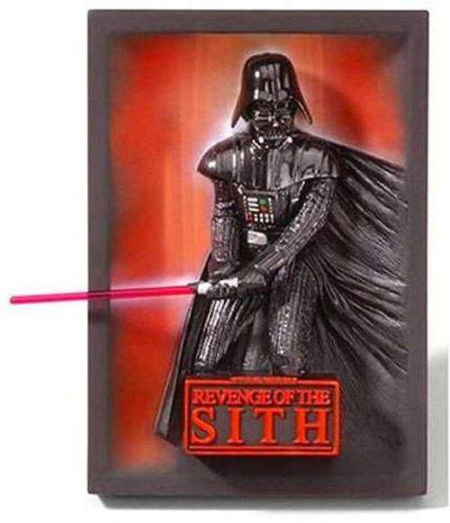 Star Wars 3-D Movie Poster Sculptures Revenge of the Sith 3-D Movie Poster Sculpture 46-Inch [Darth Vader]