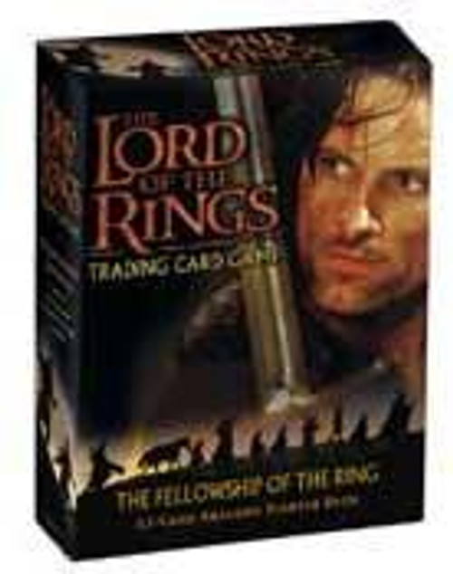 The Lord of the Rings Trading Card Game The Fellowship of the Ring Aragorn Starter Deck