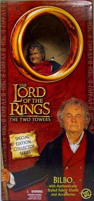 The Lord of the Rings The Two Towers Special Edition Collector Series Bilbo 12 Inch Action Figure