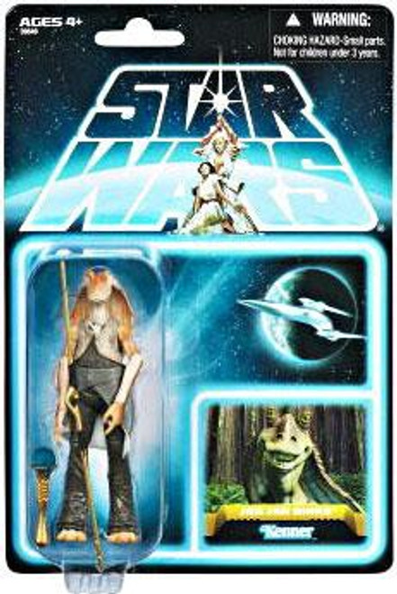 Star Wars The Phantom Menace Vintage Collection 2012 35th Anniversary Jar Jar Binks Action Figure #01