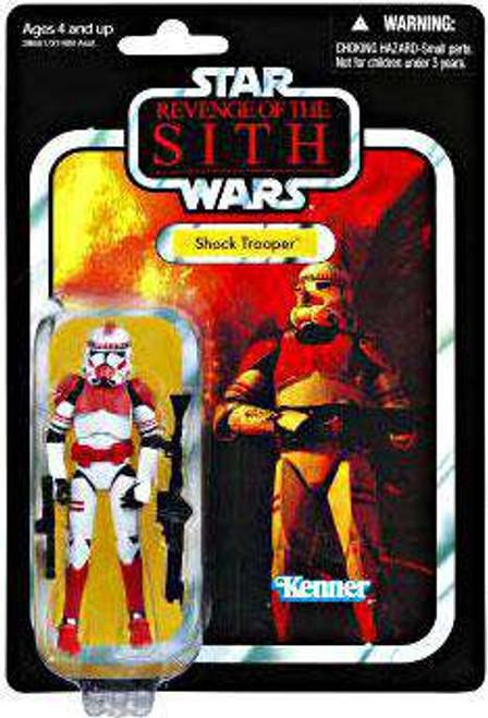 Star Wars Revenge of the Sith Vintage Collection 2012 Shock Trooper Action Figure #110