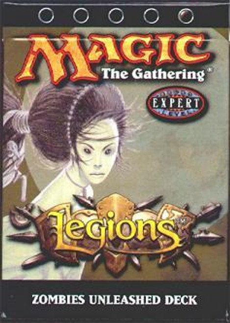 MtG Legions Zombies Unleashed Theme Deck [Sealed Deck]