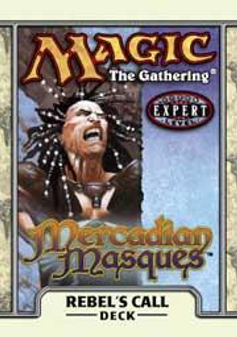 MtG Mercadian Masques Rebel's Call Theme Deck [Sealed Deck]
