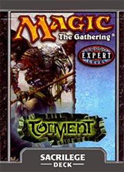 MtG Torment Sacrilege Theme Deck [Sealed Deck]