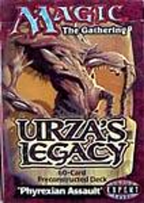 MtG Urza's Legacy Phyrexian Assault Theme Deck [Sealed Deck]
