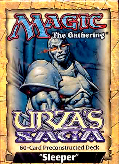 MtG Urza's Saga Sleeper Theme Deck [Sealed Deck]