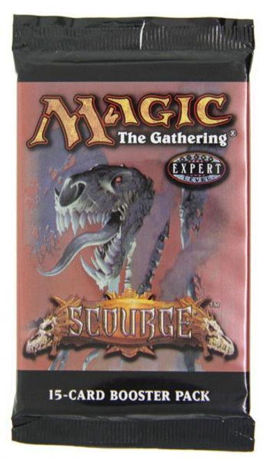 MtG Scourge Booster Pack