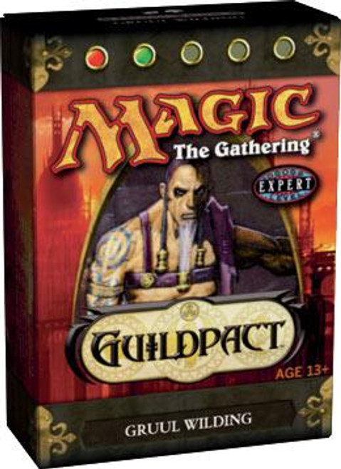 MtG Guildpact Gruul Wilding Theme Deck [Sealed Deck]