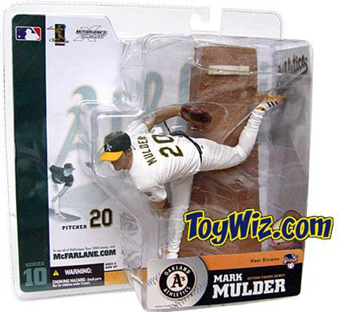 McFarlane Toys MLB Oakland A's Sports Picks Series 10 Mark Mulder Action Figure [White Jersey Variant]