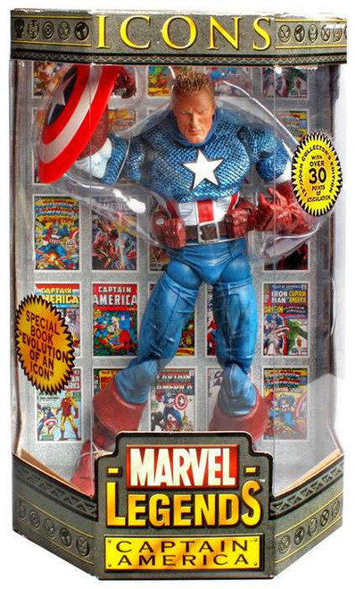 Marvel Legends Icons 12 Inch Series 1 Captain America Action Figure