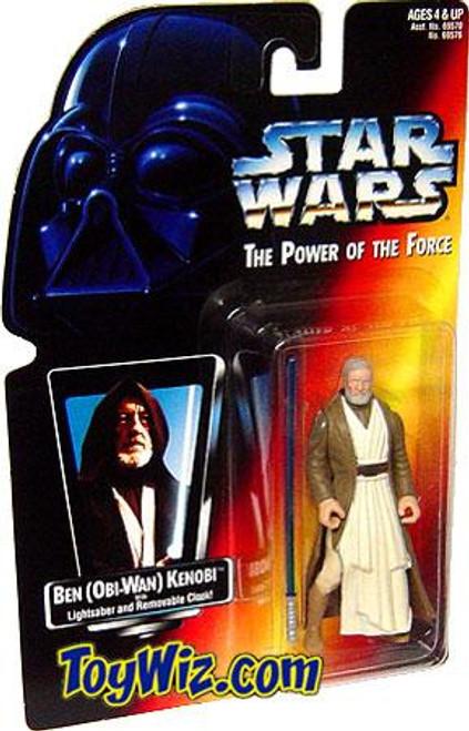 Star Wars A New Hope Power of the Force POTF2 Ben (Obi-Wan) Kenobi Action Figure