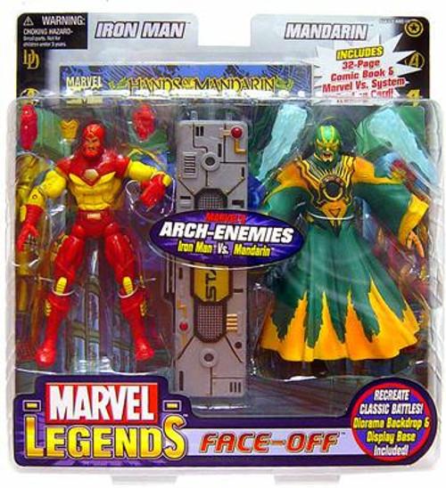 Marvel Legends Face Off Series 2 Iron Man vs. Mandarin Action Figure