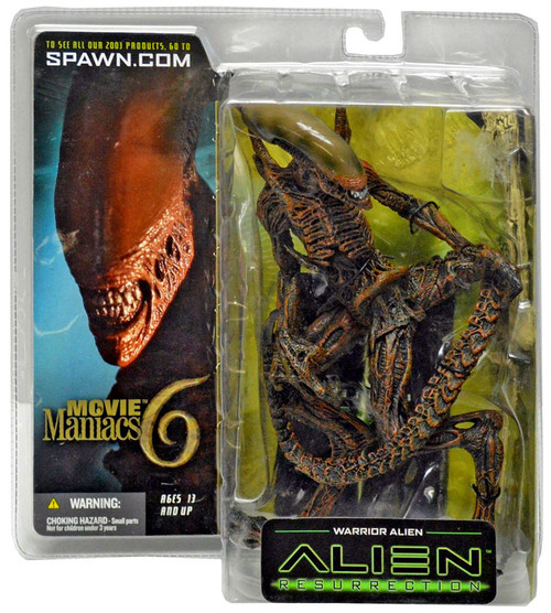 McFarlane Toys Alien Resurrection Movie Maniacs Series 6 Warrior Alien Action Figure