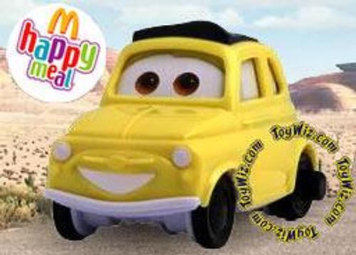Disney Cars McDonald's Happy Meal Luigi Plastic Car #7