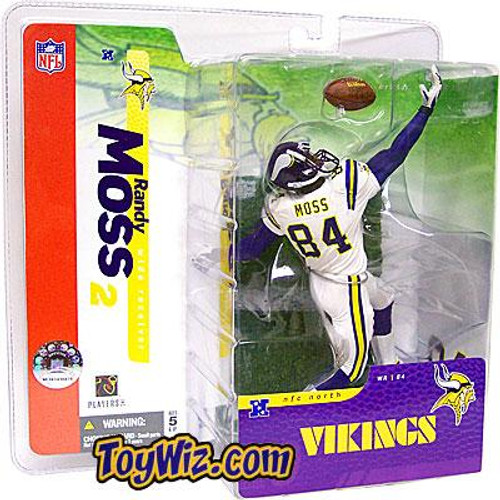 McFarlane Toys NFL Minnesota Vikings Sports Picks Series 10 Randy Moss Action Figure [White Jersey Variant]