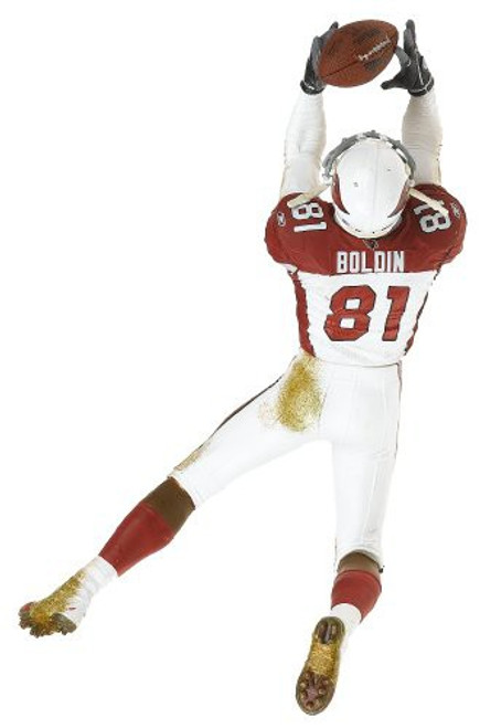 McFarlane Toys NFL Arizona Cardinals Sports Picks Series 12 Anquan Boldin Action Figure [White & Red Jersey]