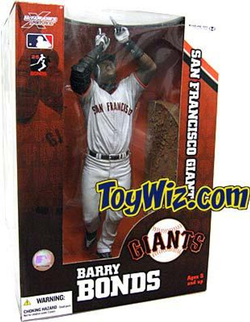 McFarlane Toys MLB Sports Picks 12 Inch Deluxe Barry Bonds (San Francisco Giants) Action Figure [Gray Jersey Variant]
