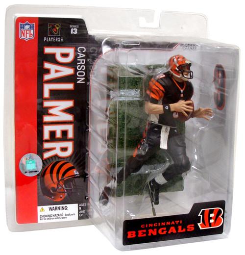 McFarlane Toys NFL Cincinnati Bengals Sports Picks Series 13 Carson Palmer Action Figure [Black Jersey]