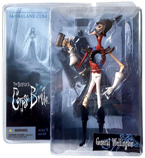 McFarlane Toys Corpse Bride Series 1 General Wellington Action Figure
