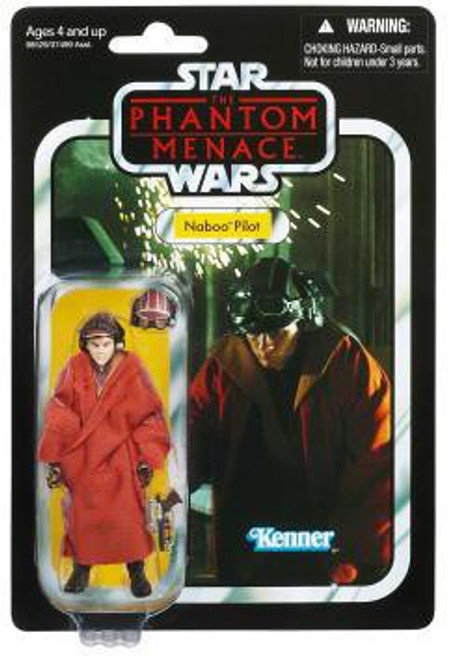 Star Wars The Phantom Menace Vintage Collection 2012 Naboo Pilot Action Figure #72