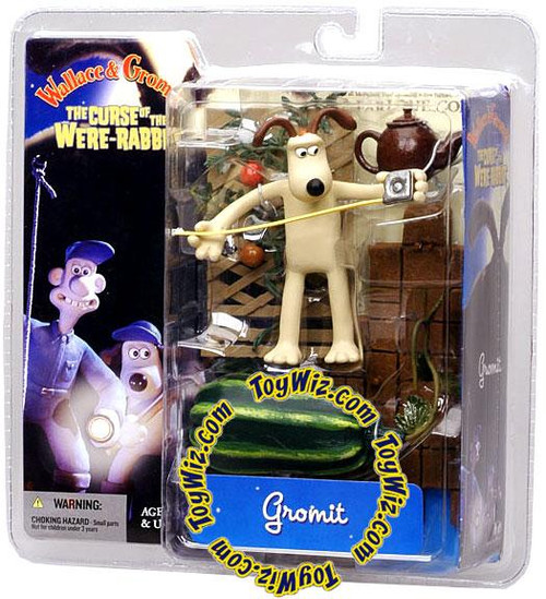 McFarlane Toys Wallace and Gromit The Curse of the Were-Rabbit Gromit Action Figure [With Tape Measure]
