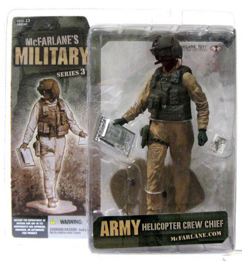 McFarlane Toys McFarlane's Military Series 3 Army Helicopter Crew Chief Action Figure [African American]