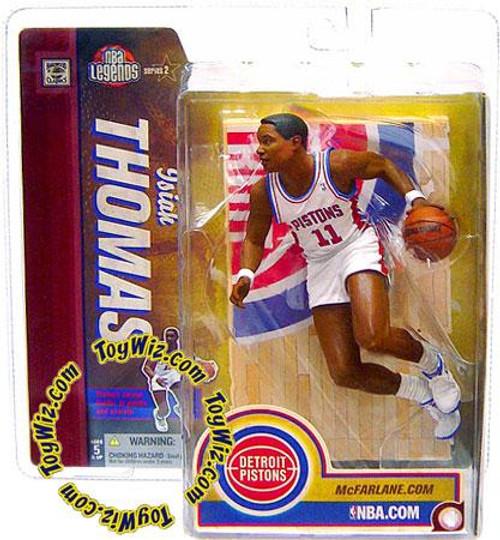 McFarlane Toys NBA Detroit Pistons Sports Picks Legends Series 2 Isiah Thomas Action Figure [White Jersey]