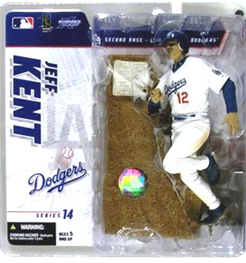 McFarlane Toys MLB Los Angeles Dodgers Sports Picks Series 14 Exclusive Jeff Kent Exclusive Action Figure [White Jersey]