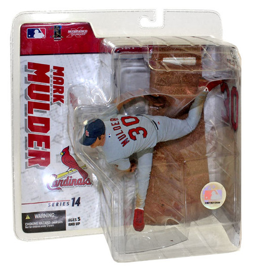 McFarlane Toys MLB Sports Picks Series 14 Exclusive Mark Mulder (St. Louis Cardinals) Exclusive Action Figure [Gray Jersey Variant]