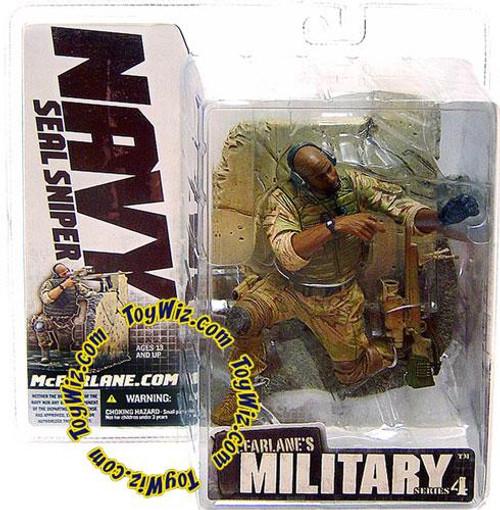 McFarlane Toys McFarlane's Military Series 4 Navy SEAL Sniper Action Figure [African American]