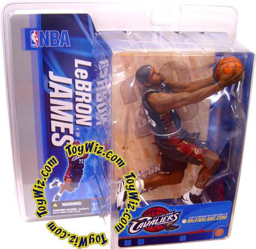 McFarlane Toys NBA Cleveland Cavaliers Sports Picks Series 10 LeBron James Action Figure [Blue Jersey]