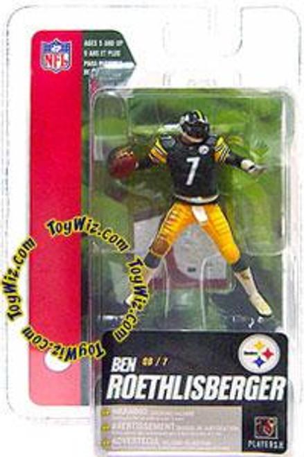 McFarlane Toys NFL Pittsburgh Steelers Sports Picks Series 4 Mini Ben Roethlisberger 3-Inch Mini Figure