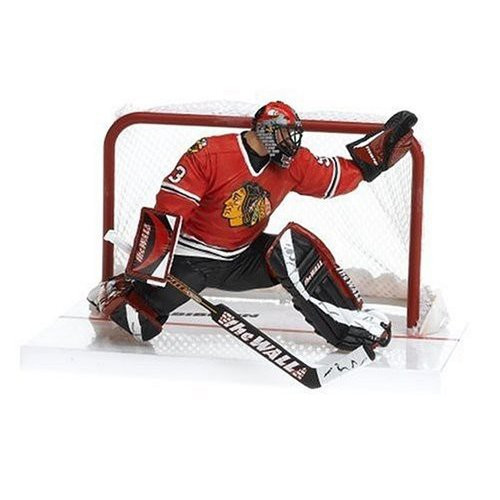 McFarlane Toys NHL Chicago Blackhawks Sports Picks Series 12 Nikolai Khabibulin Action Figure [Red Jersey]