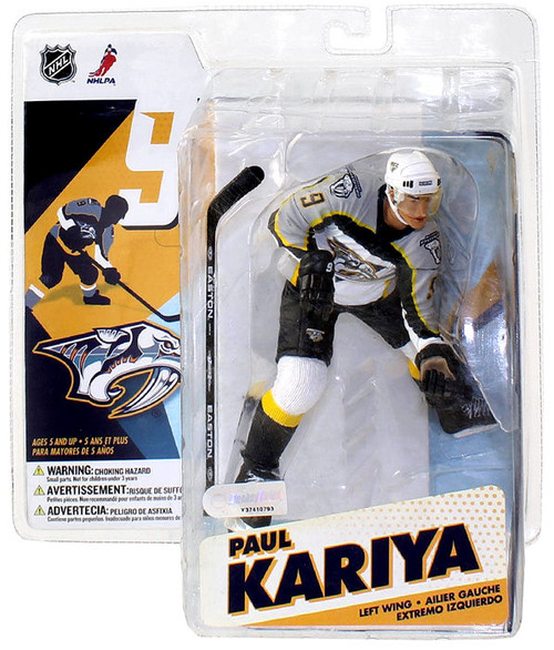 McFarlane Toys NHL Nashville Predators Sports Picks Series 12 Paul Kariya Action Figure [White Jersey]