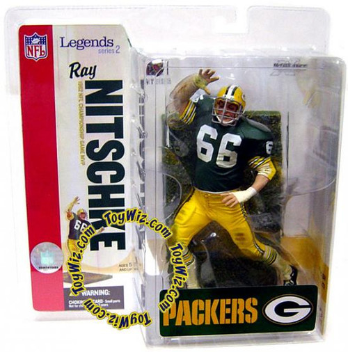McFarlane Toys NFL Green Bay Packers Sports Picks Legends Series 2 Ray Nitschke Action Figure
