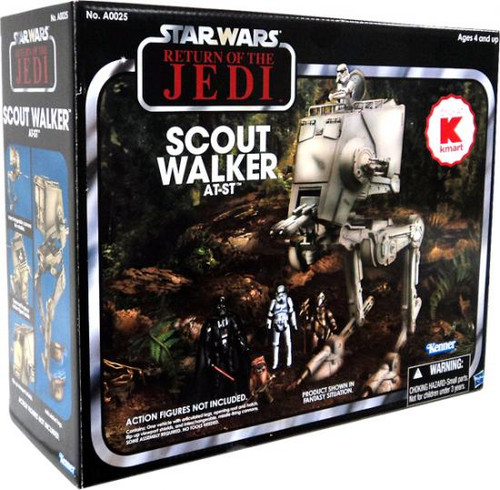 Star Wars Return of the Jedi Vintage Collection Vehicles Scout Walker AT-ST Exclusive Action Figure Vehicle
