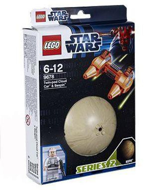 LEGO Star Wars The Empire Strikes Back Planets Series 2 Twin-Pod Cloud Car & Bespin Set #9678
