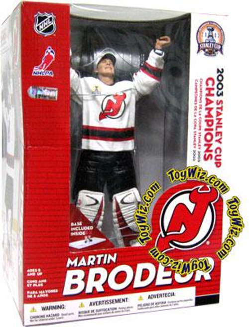 McFarlane Toys NHL New Jersey Devils Sports Picks 12 Inch Deluxe Martin Brodeur Action Figure