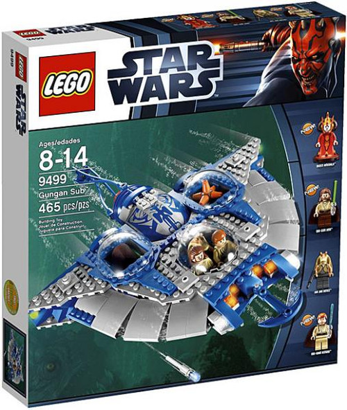 LEGO Star Wars The Phantom Menace Gungan Sub Set #9499